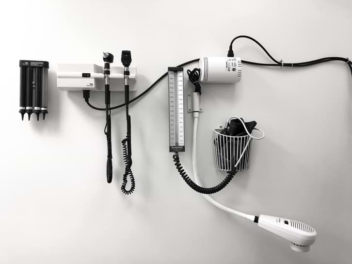 ENT tools used by an ENT Specialist